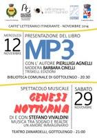 Appuntamenti del Caffè Letterario Itinerante - Mercoledì 12 Novembre e Sabato 29 Novembre 2014