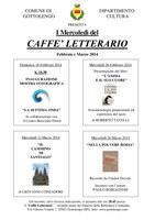Aggiornato: Caffè Letterario Febbraio e Marzo 2014