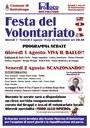 Festa del Volontariato - 1 e 2 Agosto 2013