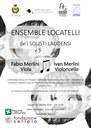 Giovedì 30 Ottobre 2014 - Concerto per Viola e Violoncello al Teatro Zanardelli