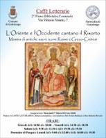 L'Oriente e l'Occidente cantano il Risorto» - Mostra di Sacre Icone al Caffè Letterario